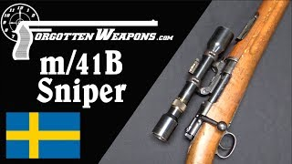 Swedish m/41B - Best Sniper Rifle of World War Two