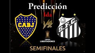 Predicción Boca Vs. Santos. Copa Libertadores 2020