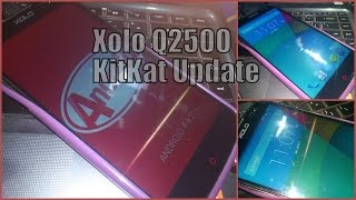 Quick Overview of XOLO Q2500 KitKat Update Unofficial ROM/Firmware