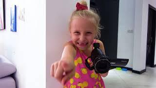 Аlicia hizo una broma con dulces para papá