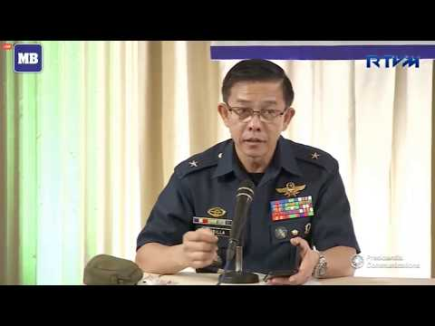 LIVE: 'Mindanao Hour' press briefing with the Malacañang Press Corps (MPC) at Kalayaan Hall