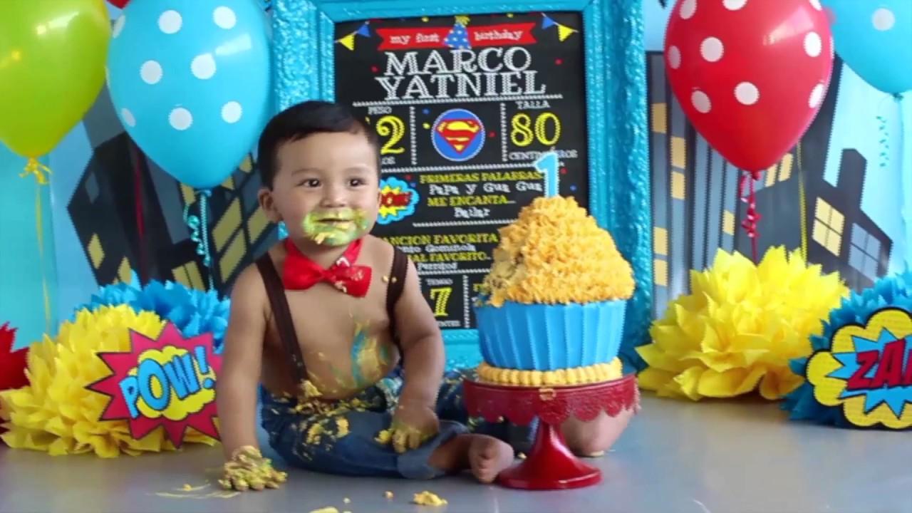 SMASH THE CAKE Bugaboo Photography Superman MARCO - YouTube