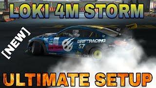 Loki 4M STORM Ultimate Setup For ALL Tracks (BMW M4) | CarX Drift Racing
