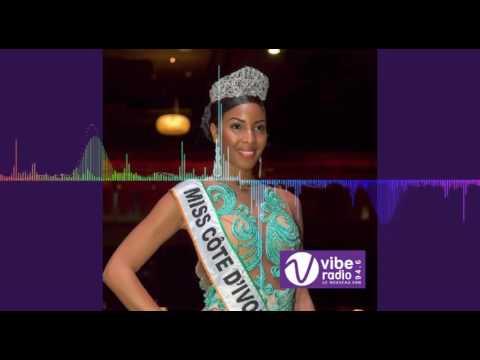 Interview Miss Côte d'ivoire 2016 dans le Gossip de Vibe Radio