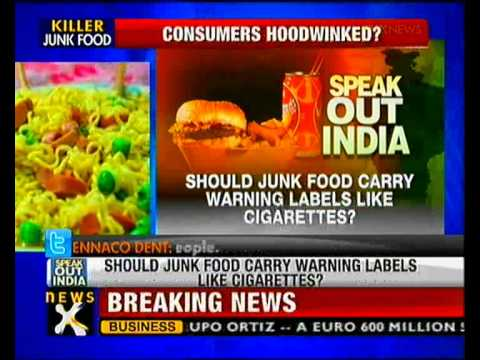 Speak out India: Should junk food carry warning label? - NewsX