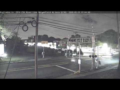 BigTrains.tv  CP10 CSX River Line Bergenfield NJ