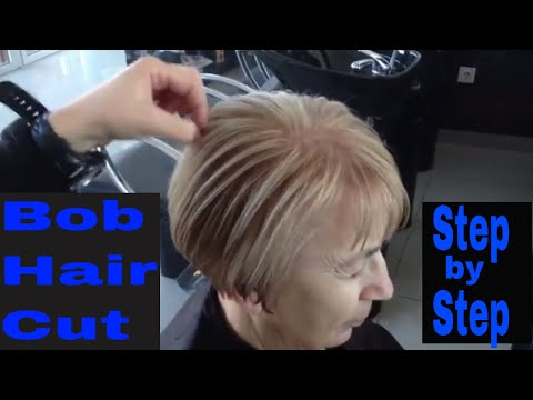 Bob haircut  step by step 2019