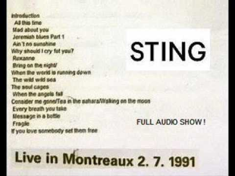 "STING - Montreux 02-07-1991 ""Casino"" (Acoustic Gig) (FULL AUDIO SHOW)"