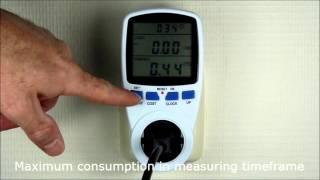 Productvideo EcoSavers Energy Meter