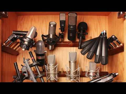 Audio Mistakes 109: 10 Common Vocal Recording Mistakes - 3. Mic Types