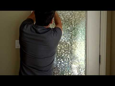 DIY privacy window covering in real time! Easy Cheap Fast! |