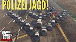 Hilfe die Polizei Crew will mich! Jagd Spiel GTA 5 ONLINE Deutsch