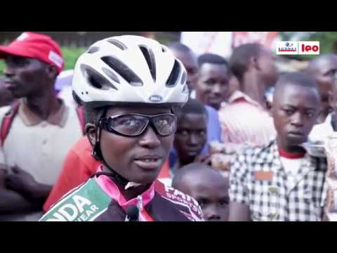 Tour du Burundi à Vélo : Ikiyago na Adelphine NIFASHA , uwa mbere mu bigeme