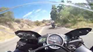 how not to ride through ortega highway