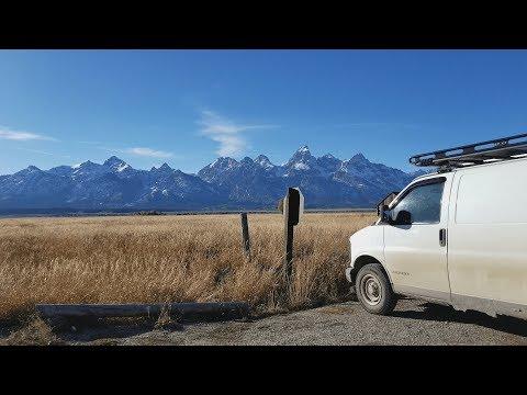 Van Life : Grand Teton National Park