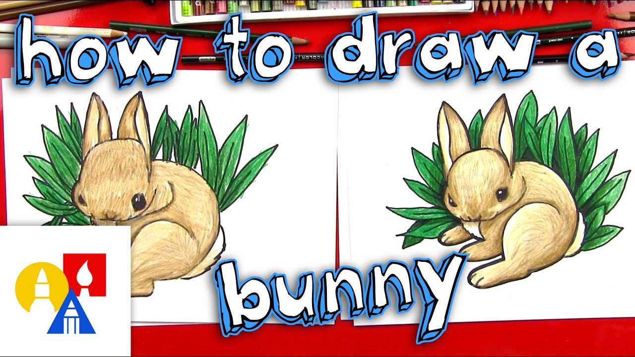 how to draw a realistic bunny youtube