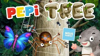 Pepi Tree Help and learn about these tree animals with cute music