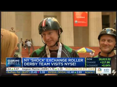 New York Shock Exchange at the New York Stock Exchange