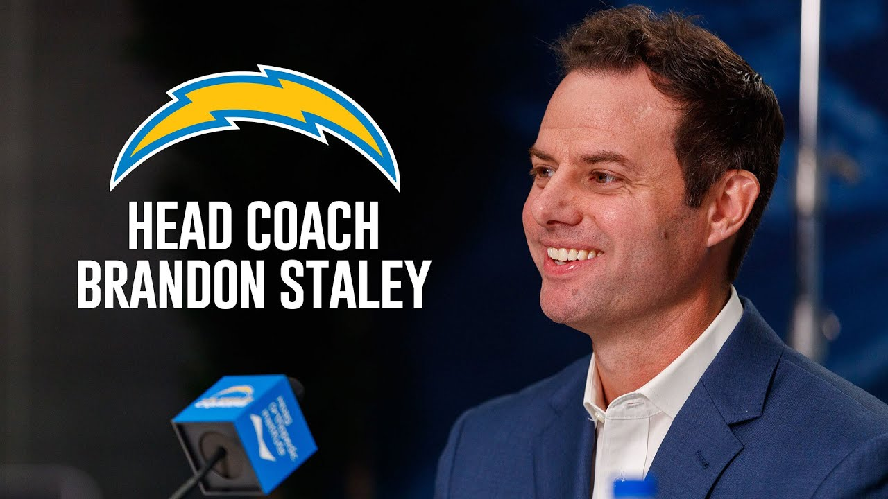 Head Coach Brandon Staley Introductory Press Conference - YouTube