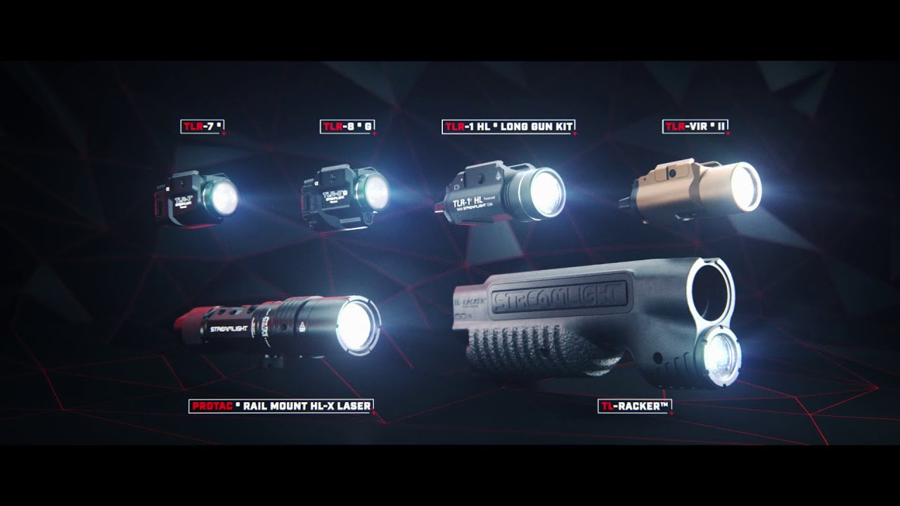 Streamlight weapon-mounted lights series
