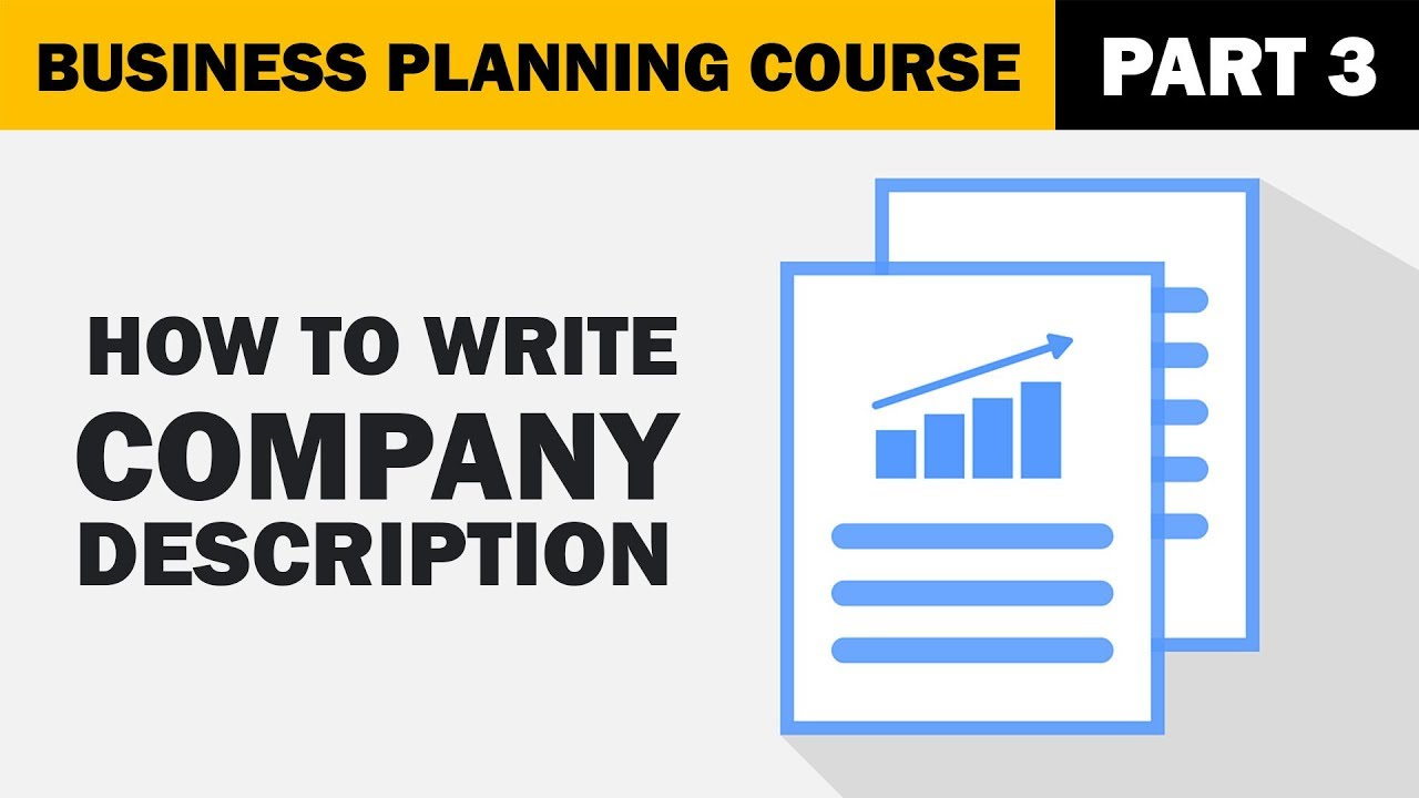 How to Write Company Description for your Business Plan?