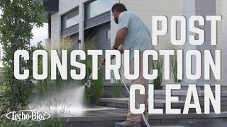 How To Perform a Post Construction Wash