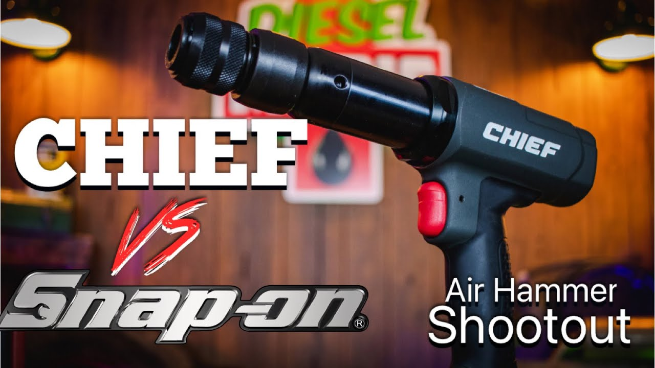 Chief Air Hammer Test Head To Head VS Snap On