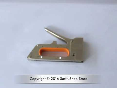 R23 1008F Heavy Duty Metal Gun Tacker Staple Gun Stapler