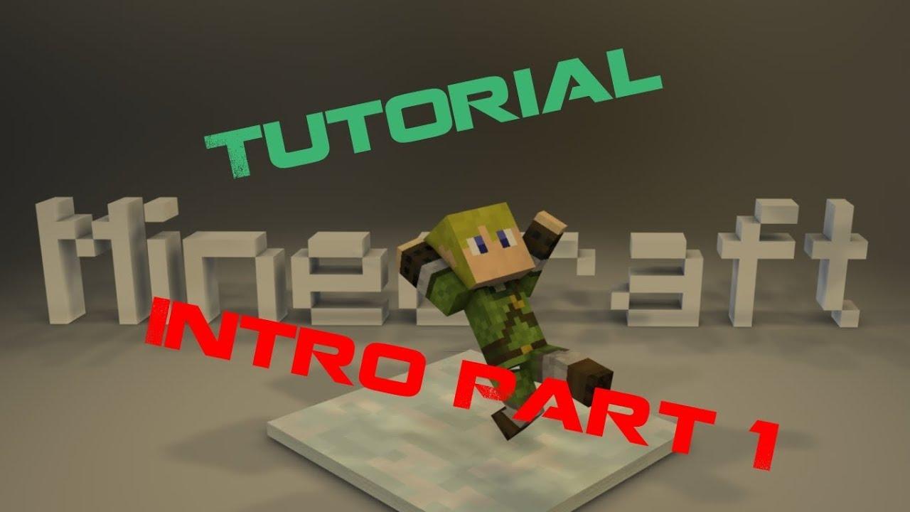 Cinema 4D Minecraft Intro erstellen [German/Deutsch] PART#1 - YouTube