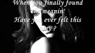 Have you ever been in love-Celine Dion with lyrics