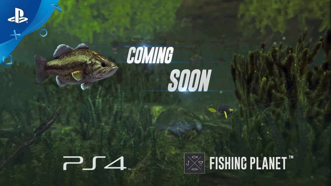 Fishing planet announce teaser ps4 youtube for Fishing planet ps4
