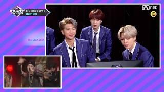 [RUS SUB][Рус.саб] Реакция BTS на дебютное выступление MCountdown EP.600 (방탄소년단)