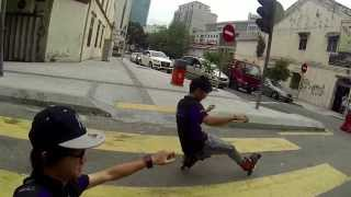 Malaysia Freestyle Skating @ World Car Free Day 2013 Kuala Lumpur (GoPro Hero3)