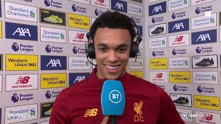 Alexander-Arnold on Liverpool's title talk, improving, and changing full back role