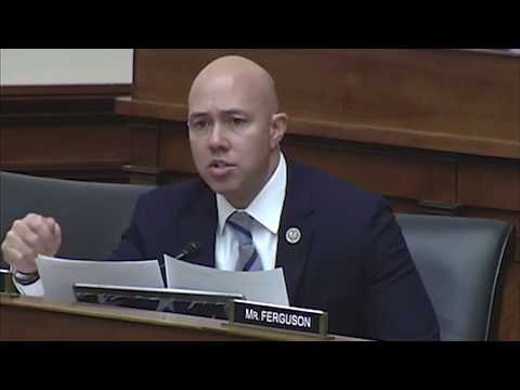 Rep. Mast Questions Army Corps on Streamlining Water Infrastructure Projects