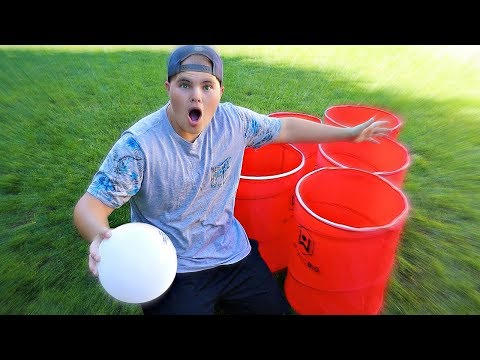 GIANT CUP PONG Challenge!