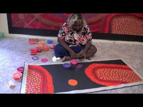 Aboriginal Artist Gracie Ward Napaltjarri 1715