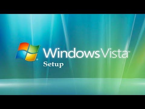 Windows Vista Setup Video