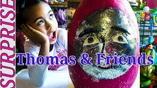 Giant Thomas and Friends Play-doh Surprise Egg Thomas Mini Blind Bags Shopkins 2