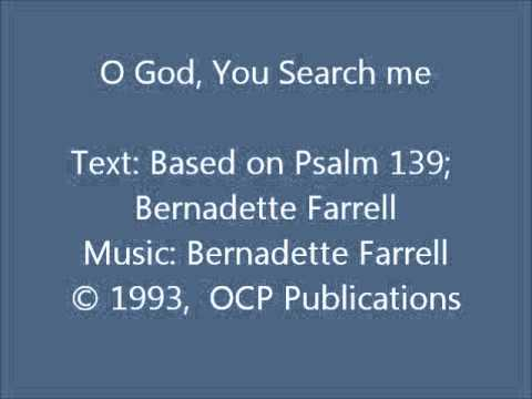 O God, You Search Me