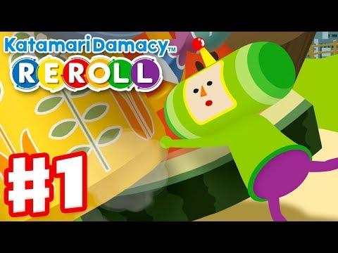Katamari Damacy Reroll - Gameplay Walkthrough Part 1 - The Original Returns! (Nintendo Switch)