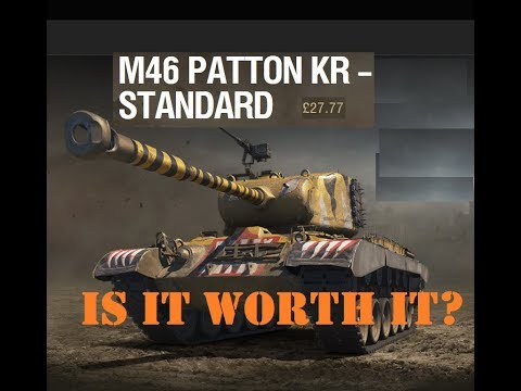 Gaming Bear M46 KR Korea Tier VIII medium Christmes day 2 Is it worth it?