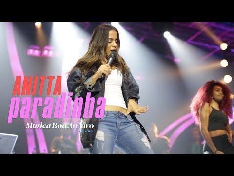Anitta - Paradinha  Ensaio Música Boa Ao Vivo