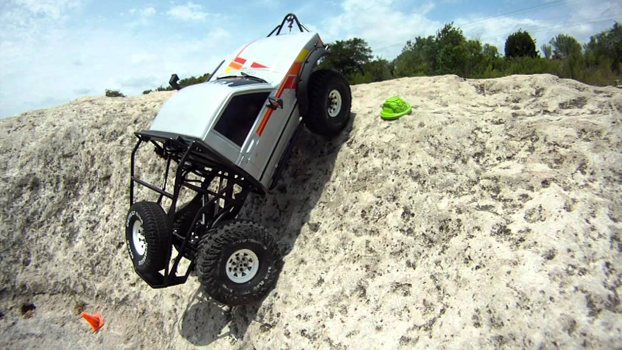 Scale Crawler Tire Comparison Mud Slinger Trail Buster
