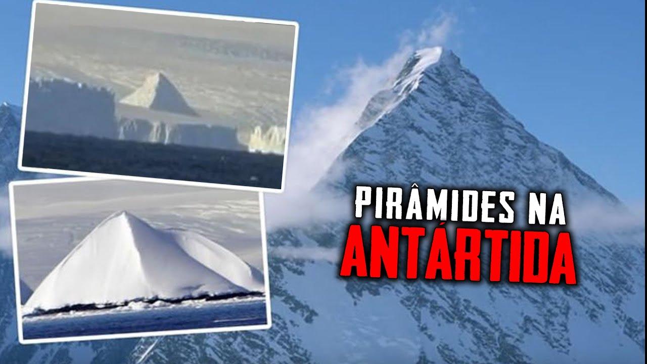 Foram encontradas PIRÂMIDES na ANTÁRTIDA e por baixo delas REVELAÇÕES SURPREENDENTES