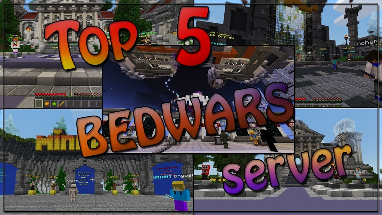 Top 5 Bedwars Servers In Minecraft 1 2 Best Servers In Minecraft Pe 1 2 Rhl Plays Youtube