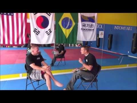 Full interview with Master Marc McPharlin (Taekwondo)