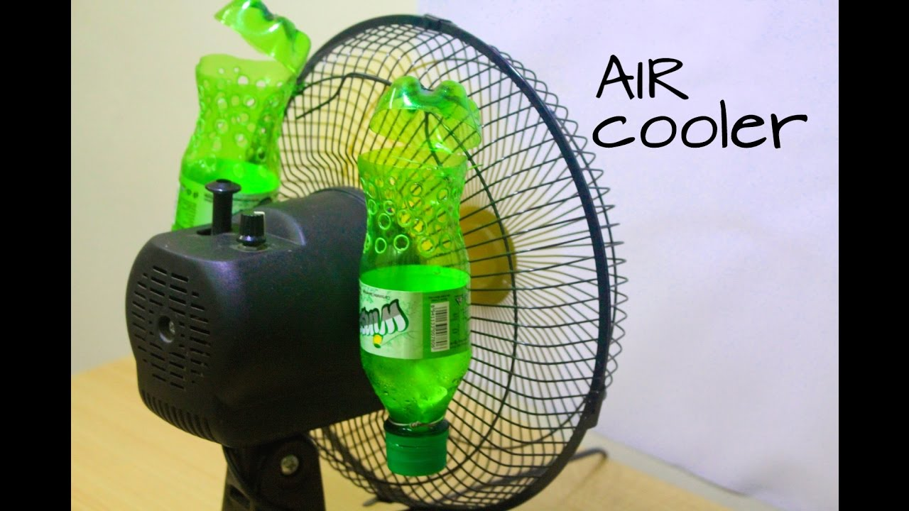 how to make air conditioner at home using plastic bottle easy life hacks youtube [ 1280 x 720 Pixel ]
