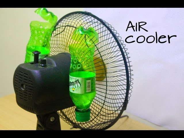 How to make air conditioner at home using Plastic Bottle - Easy life hacks
