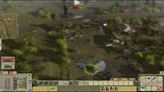 Men of War: Red Tide - тактика, захват броневика
